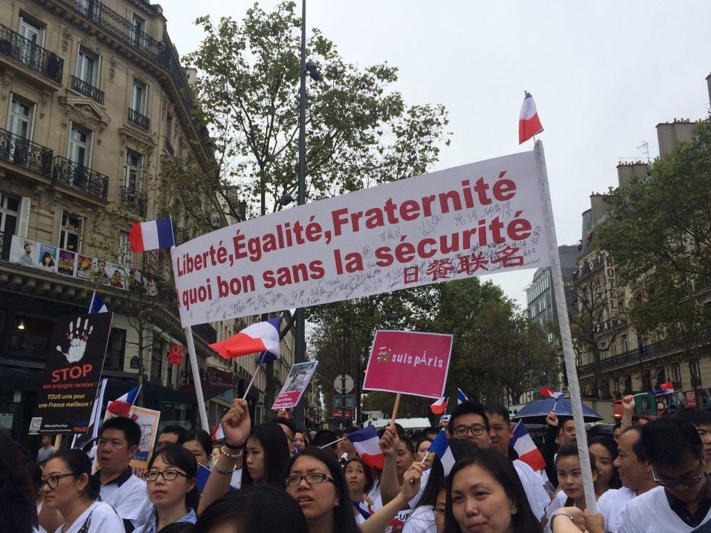 Chinois sécurité Paris