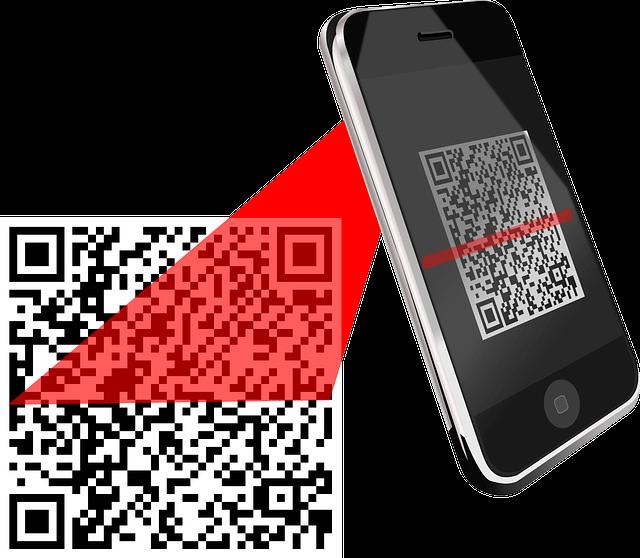 O2O scan QR code