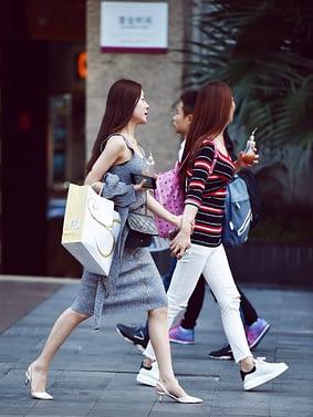 Pour 44% des touristes chinois le shopping touristique est un critère pour choisir une destination.