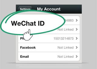 Carte identité WeChat