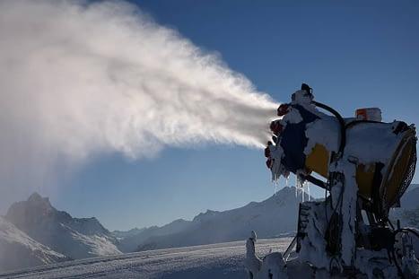 Canon à neige pour stations chinoises